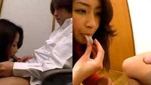 Japanese Stepmom all semen your child eats