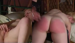 Mother punishes his schoolgirl daughter masturbating