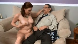 This grandfather never thought his granddaughter was such a whore